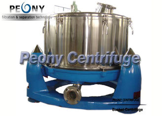چین Manual Discharge Vertical Basket Centrifuge , Bag Lifting Top Discharge Centrifuge Machine تامین کننده