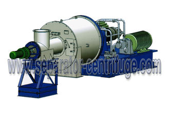 چین Horizontal Two Stage Pusher Centrifuge Salt Centrifuge Machine For Concentrating Salt تامین کننده