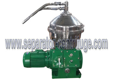 3 Phase Mechanical Conical Disc Stack Centrifuge Decanter For Separating Feedstock
