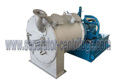 چین Two Stage Horizontal Continuous Pusher Centrifuge For Snow Salt تامین کننده