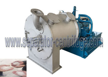 چین One Stage Pusher Chemical Centrifuge For Copper Sulfate Dehydration Machine تامین کننده