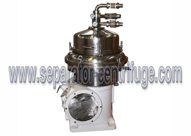 چین Disc Bowl 3 Phase Centrifuge Machine For Milk Degrease Separator تامین کننده