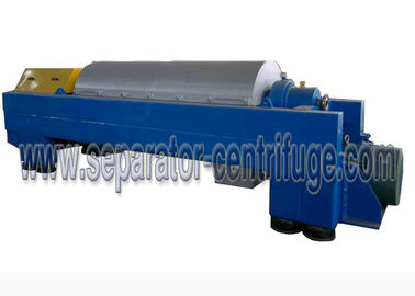 چین Horizontal 2 Phase Decanter Centrifuge For Calcium Hypochlorite Dewatering تامین کننده