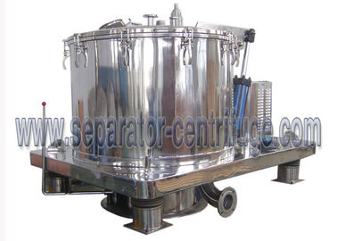چین Automatic Scraper Bottom Discharge Pharmaceutical Centrifuge / Perforated Basket Centrifuge تامین کننده