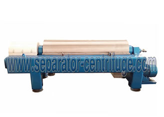 چین Horizontal Centrifugal Decanter Centrifuges 2 / 3 Phase For WWTP تامین کننده