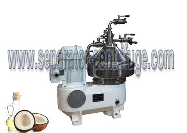 چین Belt Drive Continuous Disc Stack Centrifuges Machine For Virgin Coconut Oil تامین کننده