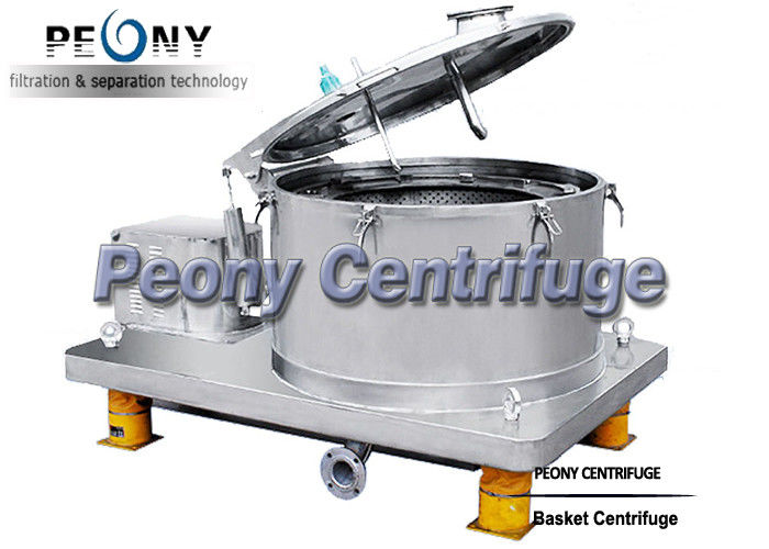 GMP Bag Lifting Batch Basket Centrifuge