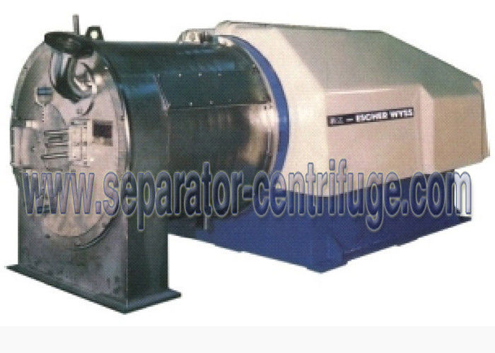 Automatic Continuous 2 Stage Pusher Basket Centrifuge For Chloroacetic Acid Project