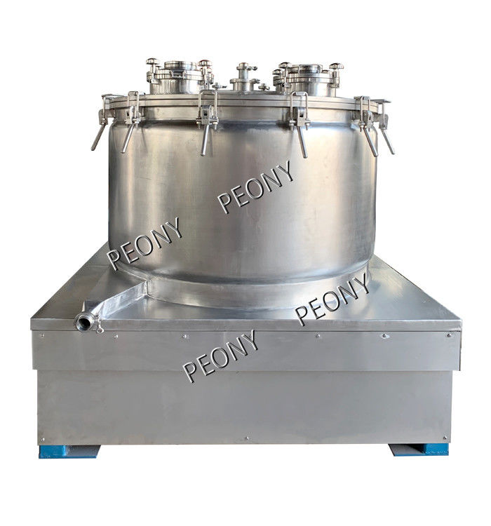 PPTD Basket Type Centrifuge Cbd Oil Extract Machine With Centrifuge Bags