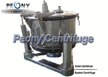 چین Manual Top Discharge Basket Centrifuge For Solid-liquid Separation And Chemical توزیع کننده