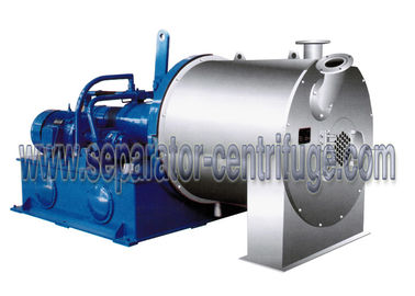چین Large Scale Salt Centrifuge Machine Continuous Double Stage Pusher Centrifuge توزیع کننده