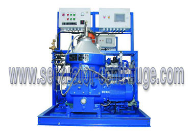 Marine Power Plant Diesel Engine Fuel Oil Handling System Disc Separator 5000 LPH