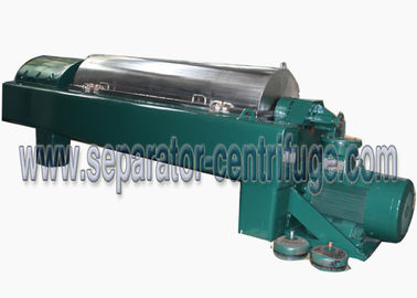 چین High Speed Titanium Solid Liquid Horizontal Decanter Centrifuge 18.5KW کارخانه