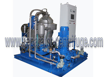 چین Automatic Skid Mounted Type Centrifugal Mineral Fuel Oil Handling Separator System for 3-phase Separation کارخانه