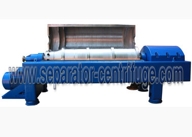 چین Waste Water Decanter Centrifuges For Steel Factory Sludge Dewatering توزیع کننده