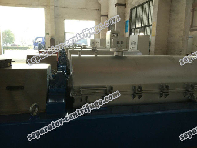 Scroll Discharge Continuous Titanium Solid Liquid Separation Centrifuge
