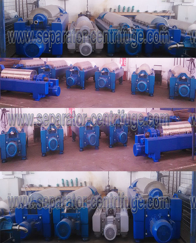 2 Phase Automatic Continuous Chemical Decanter Centrifuge Solid Bowl Centrifuges